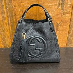 Gucci 336751 Small Soho Leather Shoulder Bag